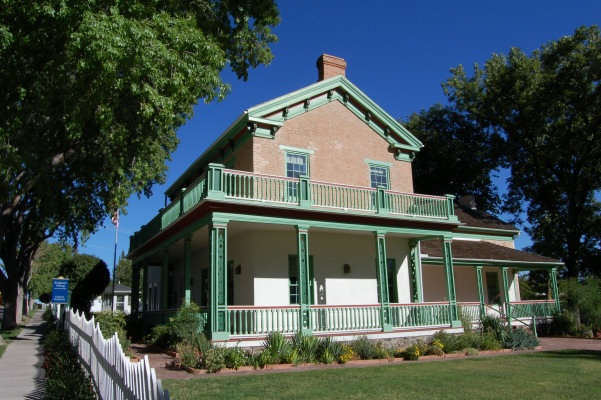 Brigham Young Winter House